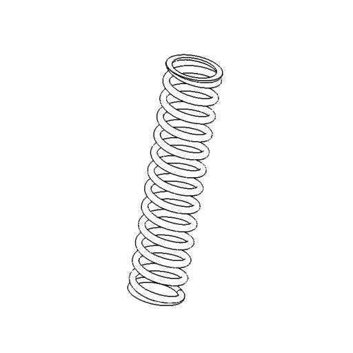 No. 79 - Inner piston spring For cartridges (2281)