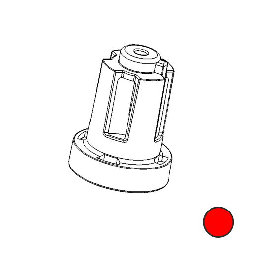 No. 121 - Drivemagnet Strong (Red)