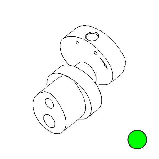 No. 82 - Cam 3mm stroke Medium (Green)
