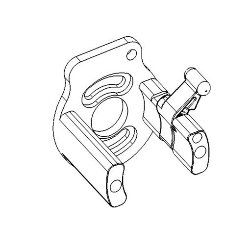 No. 75 - Motor bracket assembly